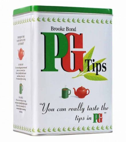 PG Tips Tea Caddy (Rectangular)